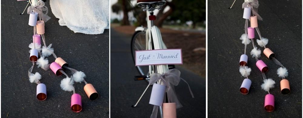 украшение машины на свадьбе