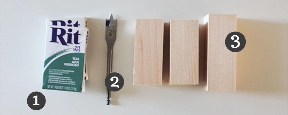 инструменты для создания подсвечника