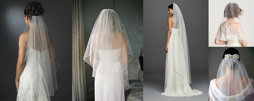 фата невесты на свадьбу