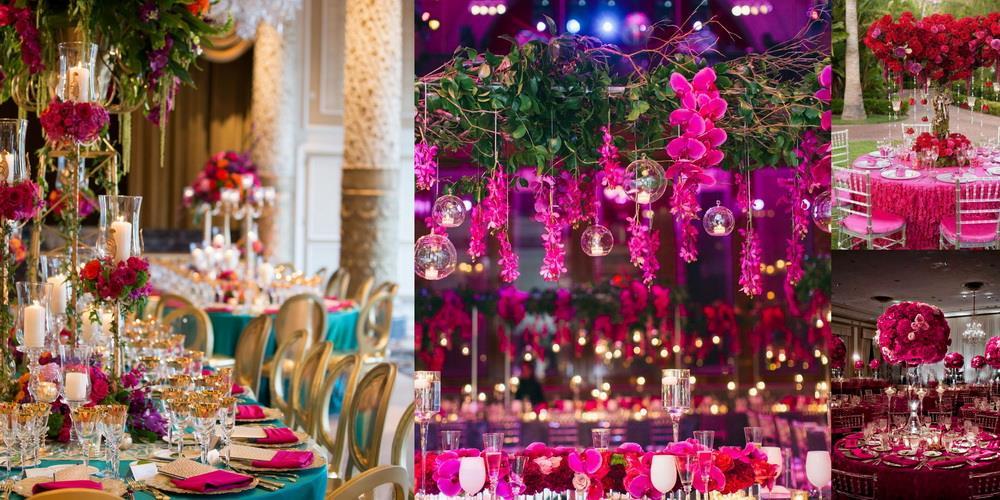 137de1354ee1a Свадьба цвета фуксии требует опыта и, желательно, профессионального  флориста и креативного декоратора, которые создадут настоящий праздник.