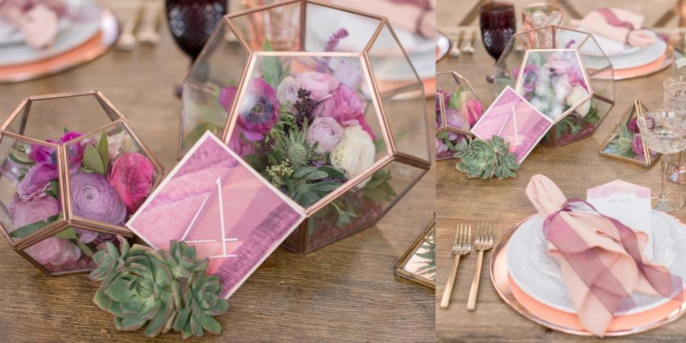 геометрическая свадьба тренд