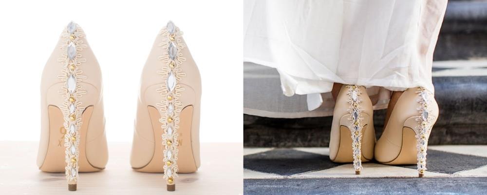 украшение обуви невесты