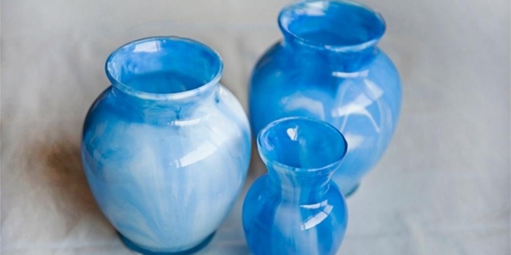 мастер-класс ваза под мрамор