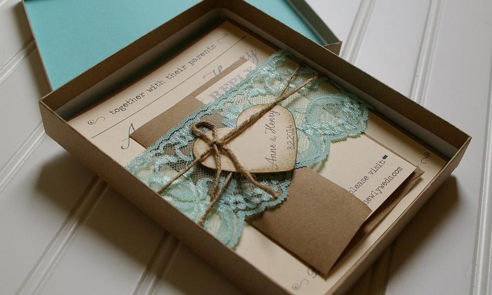 коричневые приглашения на свадьбу